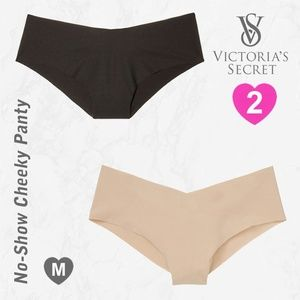 2 VS VICTORIA'S SECRET Cheeky Panties